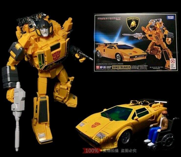 Transformers Masterpiece MP-39 Sunstreaker Lambor LP500S NEWUSA Seller