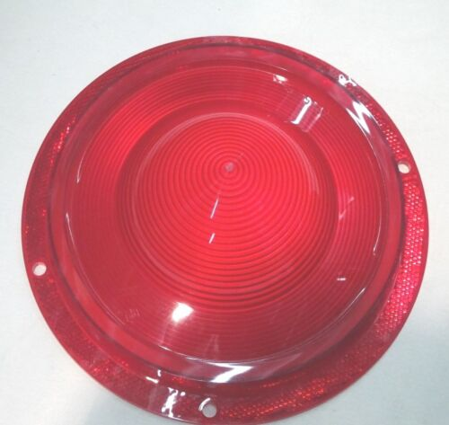 1957 57 FORD CAR TAILLIGHT LENS AND GASKET KIT fomoco script  NEW