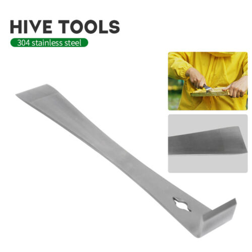 Stainless Steel Beekeeping Curved Tail Bee Hive Hook Scraper Tool For Beekeeper