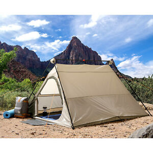 Image is loading Ozark-Trail-4-Person-Instant-A-Frame-Tent-  sc 1 st  eBay & Ozark Trail 4 Person Instant A Frame Tent Camping Scout Portable ...