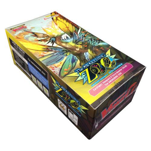 12 Packs Cardfight Vanguard G The Awakening Zoo Extra Booster Box VGE-G-EB02