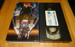 The-Silencers-VHS-1996-Jack-Scalia-Dennis-Christopher-Rare-Sci-Fi-Non-Rental