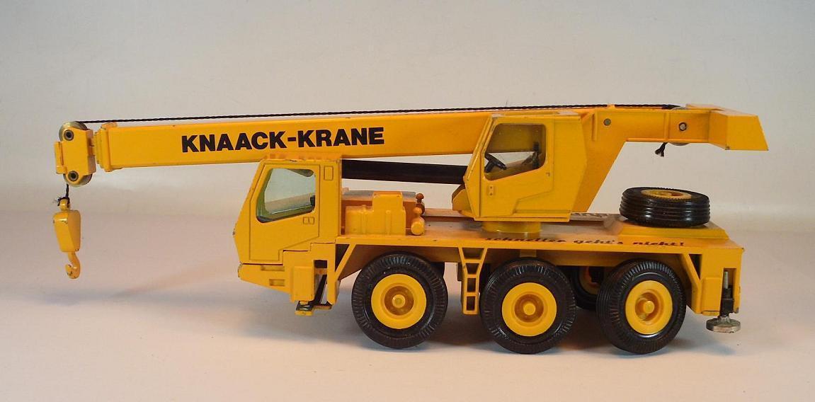 NZG 1/50 Nº 283/2831 Krupp grue mobile Knaack grues Hambourg #987   Grandes Variétés