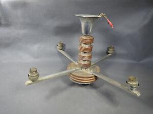 Lampadario Antico In Legno : Antico lampadario in legno e metallo vintage anni 1950 sospensione