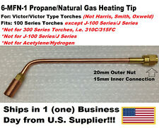 6 Mfn 1 Propanenatural Gas Heating Tip Rosebud Type 100 Series Victor Type