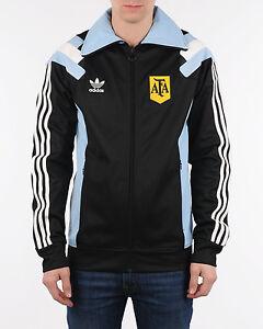Details about Adidas Originals Argentina TT 3S Track Top Zip Jacket Boys F77288