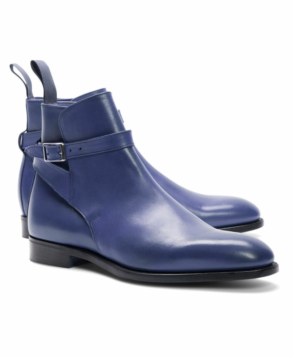 Uomo HAND CRAFTED JODHPURS LEATHER BOOTS ANKLE HIGH DRESS DRESS HIGH FORMAL WEDDING BOOTS c93b48