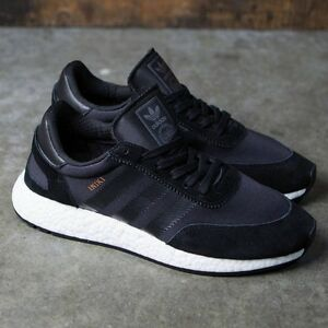 check out b3ce0 1dbc1 Image is loading ADIDAS-INIKI-RUNNER-SHOES-CORE-BLACK-BB2100-US-