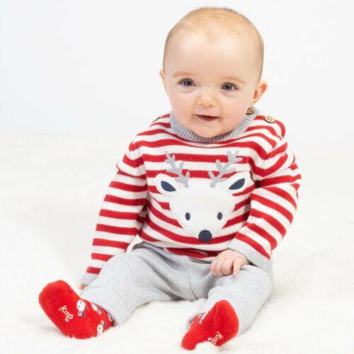 Unisex Kite Clothing 100/% Organic Cotton Reindeer Knit Set RRP £36.00