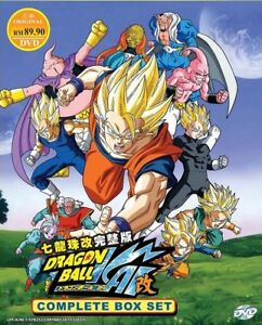 Dragon-Ball-Z-Kai-capitulo-1-167-final-11-DVD-Set-Ingles-Anime-version-Dub
