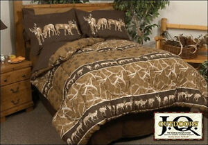 John Marshall Whitetail Trails Deer Camo Complete Bedding