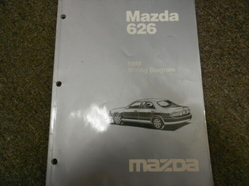 1998 Mazda 626 Electrical Wiring Diagram Service Repair Shop Manual FACTORY OEM