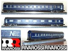 RIVAROSSI 9591 CARROZZA FS ITALIANE LETTO TEN Trans Euro Notte CIWL OVP SCALA-N