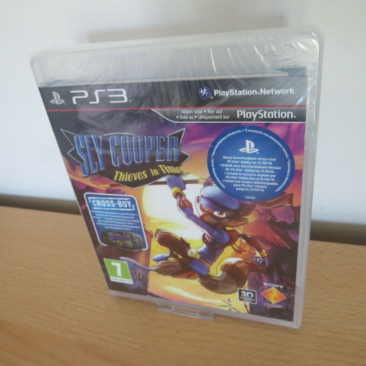 Sly Cooper - Thieves of Time - PlayStation PS3 Games - New & Sealed pal
