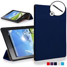 Navy Blue pieghevole Smart Cover Acer Iconia One 7 B1-780 con Stilo gratuito