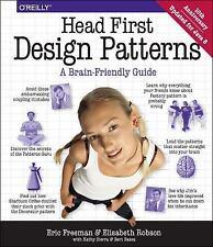 Head First: Head First Design Patterns by Bert Bates, Kathy Sierra, Eric Freeman, Elisabeth Freeman and Elisabeth Robson (2004, Paperback)