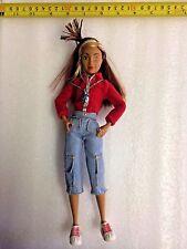 Tika FLAVAS HIP HOP Barbie Doll 2003 MATTEL Urban Hispanic Rapper Dancer