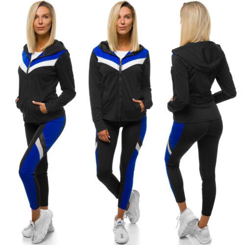 Sportanzug Trainingsanzug Hausanzug Hoodie Hose Sweatshirt OZONEE YW06005 Damen