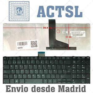 KEYBOARD SPANISH for Satellite C855-1XJ mx60RAjF-09111853-901542906