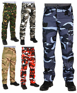 Men-039-s-Big-Size-Army-Cargo-Combat-Work-Trousers-Pants-Size-28-62