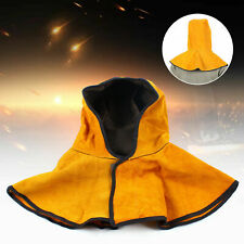 Cowhide Split Leather Weld Protective Welding Safety Hood Cap With Nape Protect
