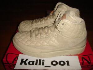 sports shoes a6816 e4368 Image is loading Nike-Air-Jordan-2-Retro-Just-Don-BG-