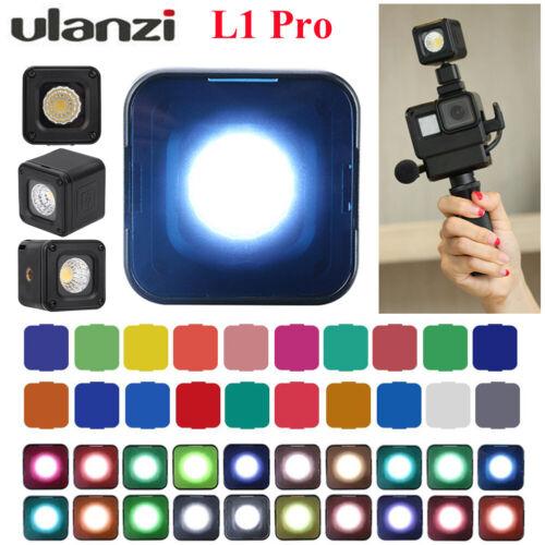 Ulanzi L1 PRO Multifuncionales Mini Luz 5500 ± 200K Luz de representación de color de alta