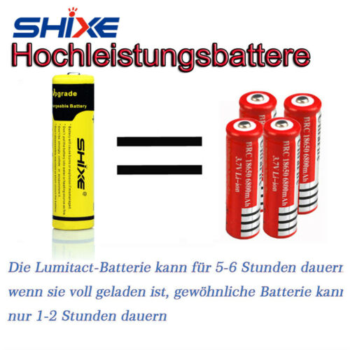 20000lm SHIXE G700 CREE L2 LED taktische Taschenlampe Military Torch Camping DE