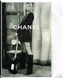 Publicité Advertising 2002 Haute Couture Chanel