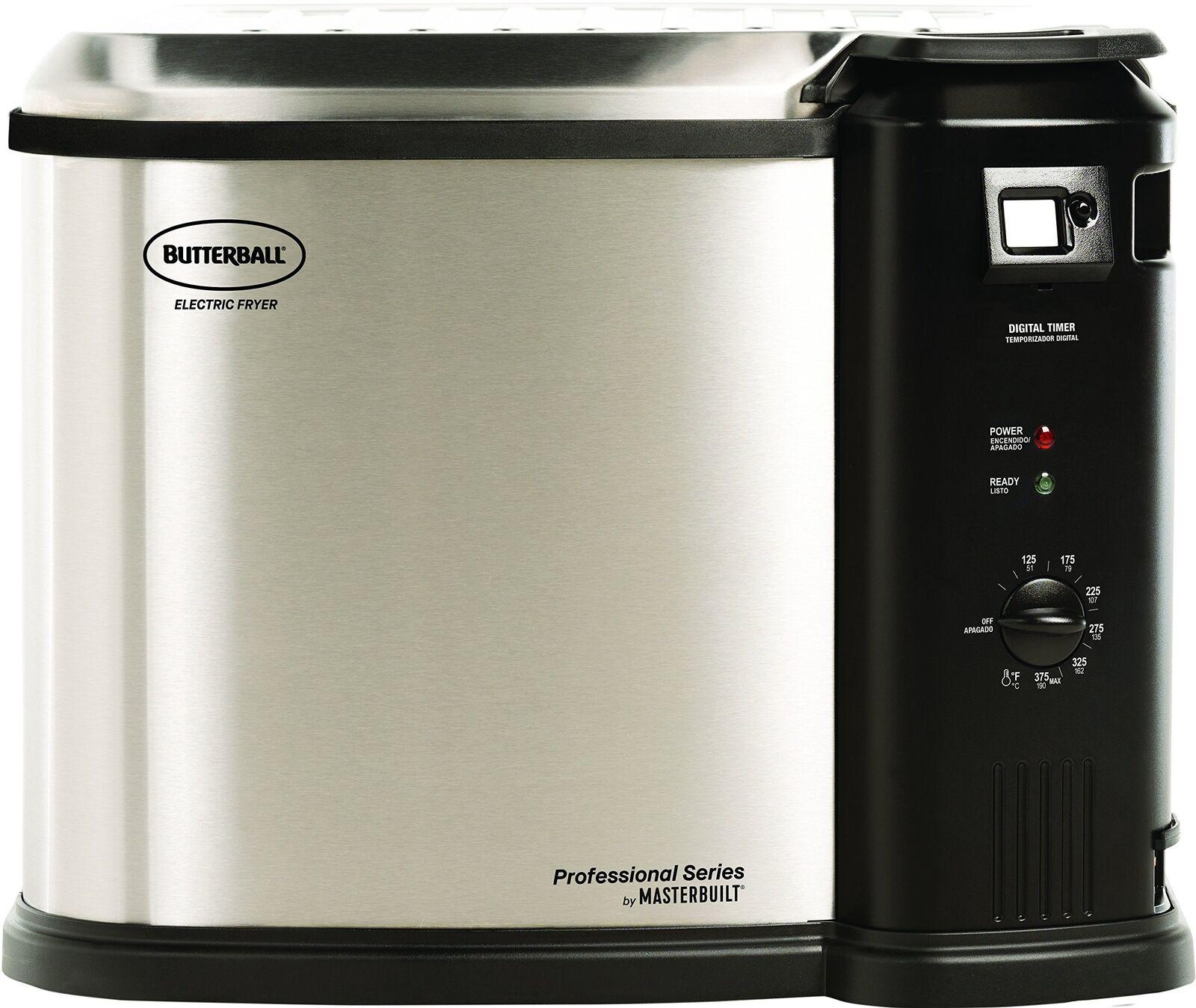 Butterball MB23010618 Masterbuilt Fryer XL en acier inoxydable