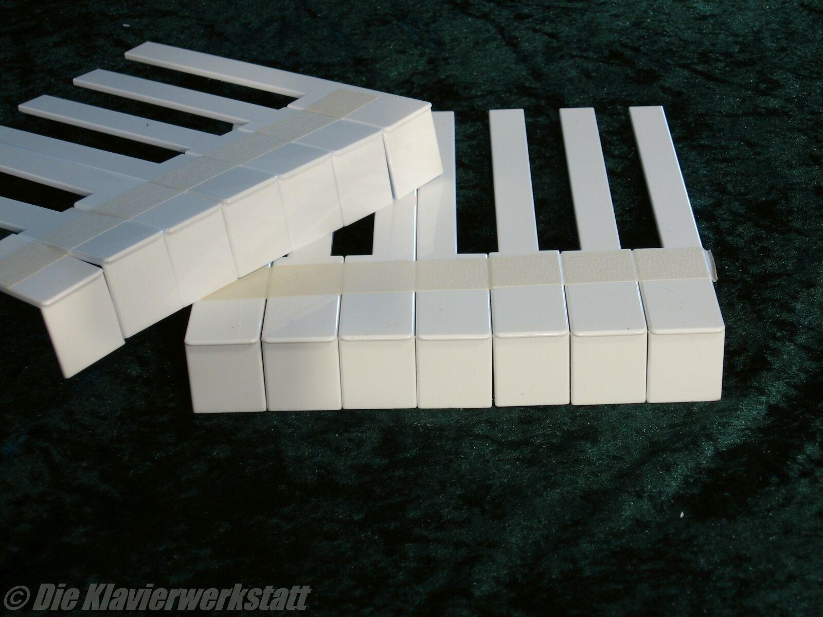 Klavier Flügel Beläge Tasten Kunststoff Kunststoff Kunststoff  Klaviaturbeläge Fronten neu bb7e76