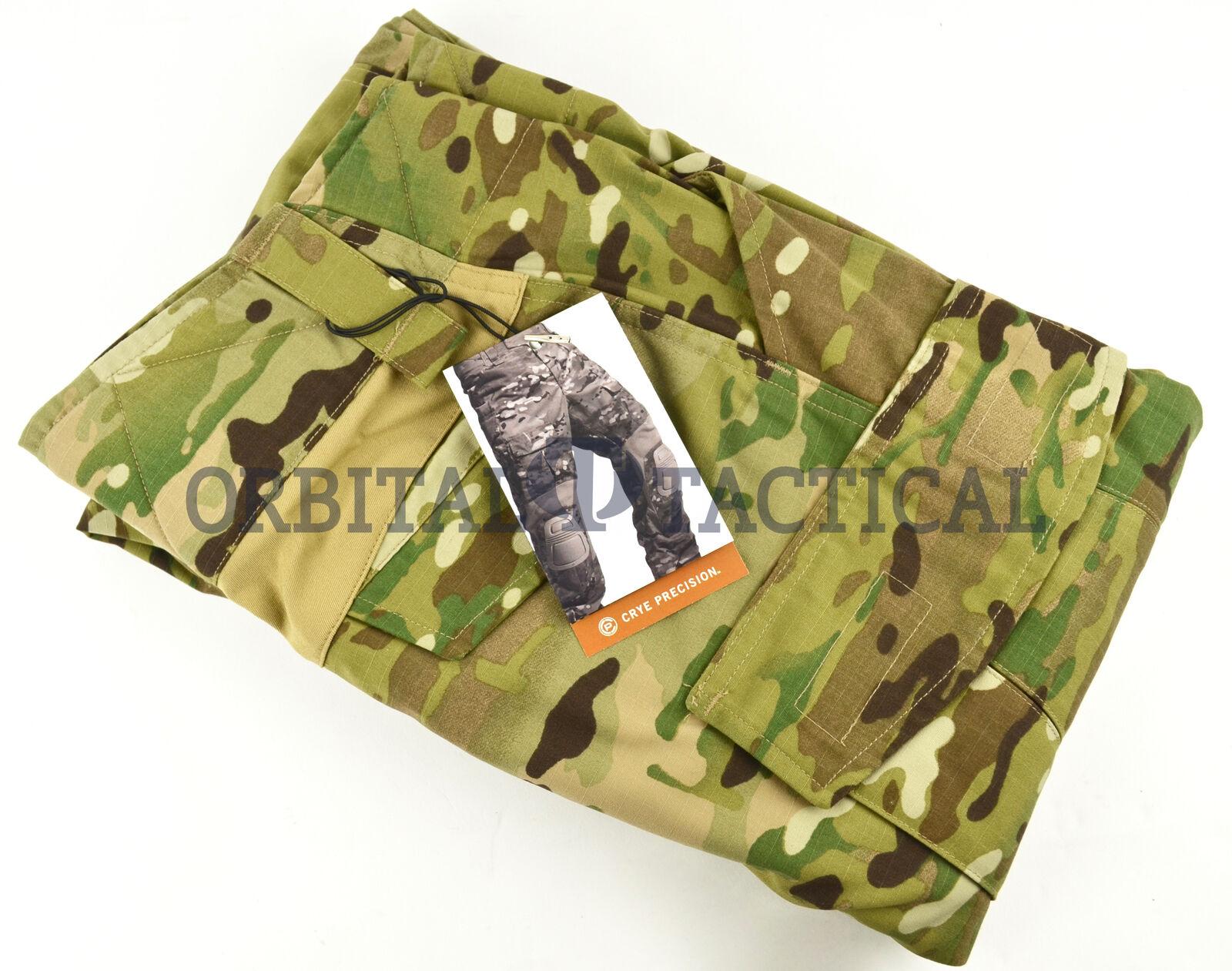 Pantalón de combate G2 multicam nuevo, hecho a medida por el ejército.