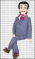 Slappy / Goosebumps Deluxe Upgrade Ventriloquist Dummy Doll Moving Eyes Quality