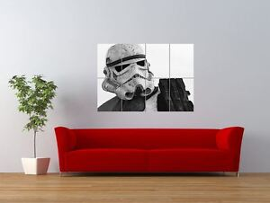 star wars storm trooper imperial soldier giant art print panel poster nor0548 ebay. Black Bedroom Furniture Sets. Home Design Ideas
