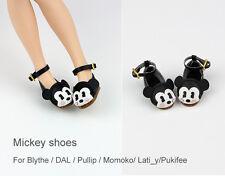 Mickey shoes_ for Blythe / DAL / Pullip / Momoko/ Lati_y/Pukifee