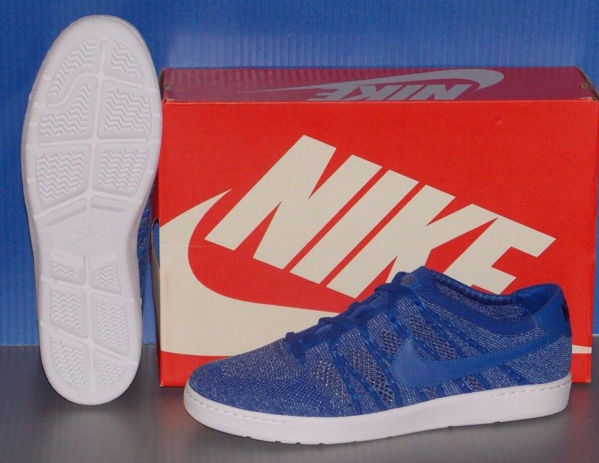 MENS NIKE TENNIS CLASSIC ULTRA FLYKNIT in colors ROYAL     blueE   LT ARM SIZE 10.5 b33125