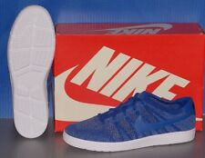 MENS NIKE TENNIS CLASSIC ULTRA FLYKNIT in colors ROYAL / BLUE / LT ARM SIZE 10.5