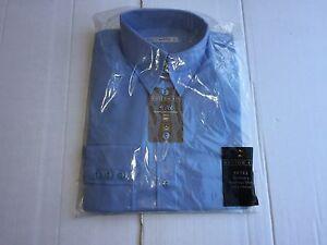 Light Blue M//12 NEW Ladies Kustom Kit K743 Long Sleeve Business Shirt L111