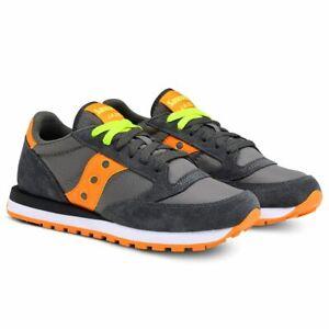 SAUCONY-JAZZ-ORIGINAL-2044-291-grigio-arancio-sneaker-uomo-dark-grey-orange