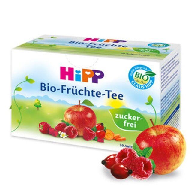 HiPP Baby FRUIT Tea from the 4th month - 20 teabags (40g) Organic Sugar Free Tea