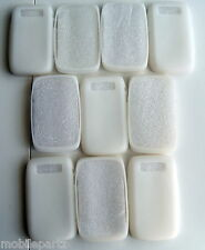 10 x Genuine BlackBerry White Rubber Silicone Skin Case Cover for Bold 9700 9780