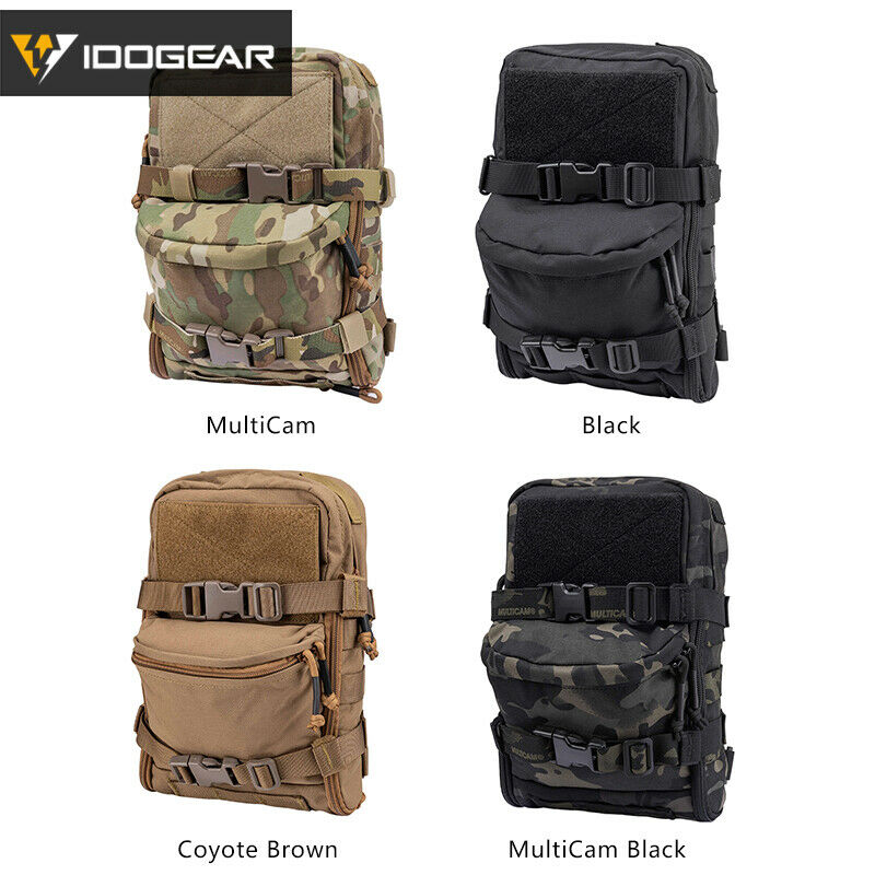 Tactical Vest Hydration Pack Action Chest Rig Carrier Molle Pouch Bag Backpack