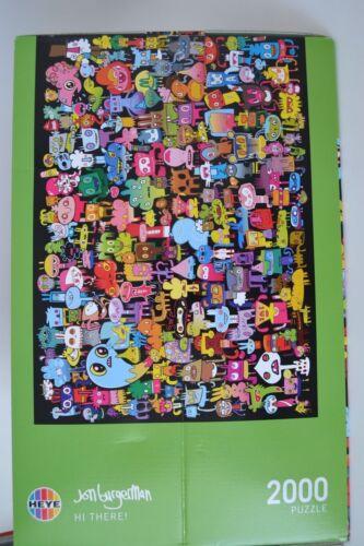2000 Teile Heye Puzzle Jon Burgerman