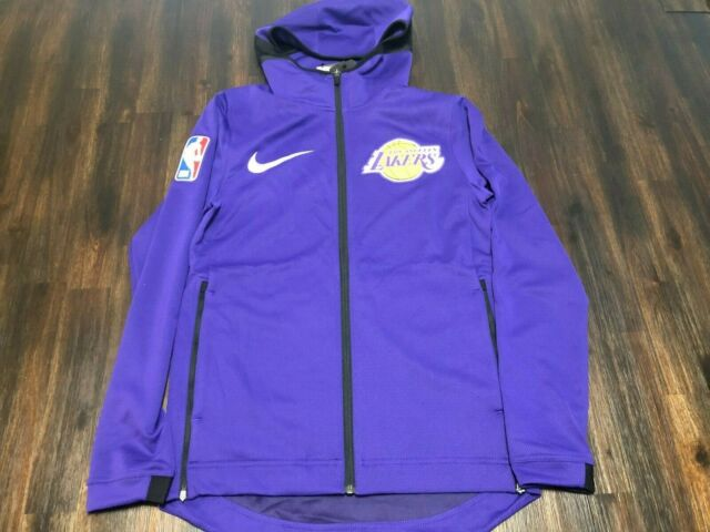 Firmar completamente solo  Nike Los Angeles Lakers NBA Therma Flex Showtime Hoodie on Court Mens Size  Large for sale online | eBay