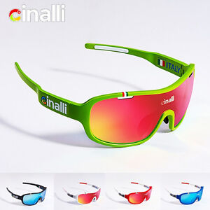 49276bb70e Image is loading CINALLI-Cycling-Sunglasses-Polarized-Eyewear-Sports-Racing- Goggles-