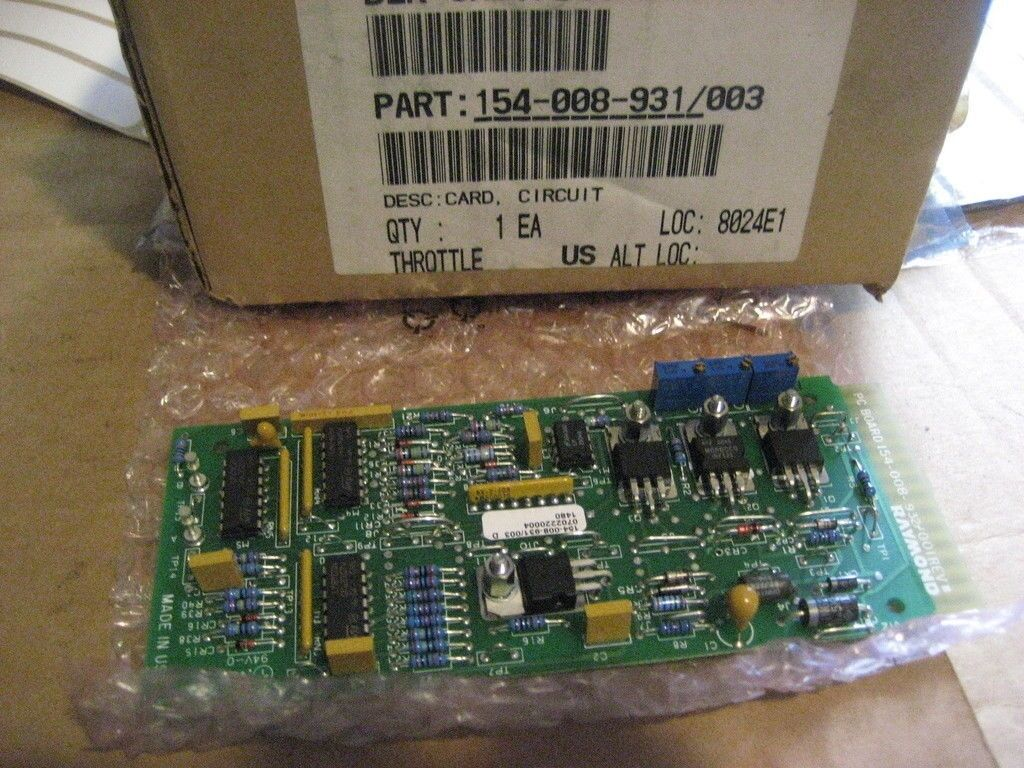 Fuse Relay Card for Raymond Forklifts 154-012-559//018