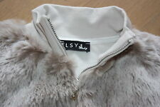 ELSY Giacca Sweatjacke pelliccia Riem. ❤ gr:116 ❤ ELSY Giacca di alta qualità