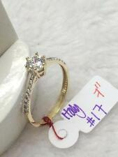 SOLID 14K Italy Gold Engagement Ring - Size 7 /  1.7g