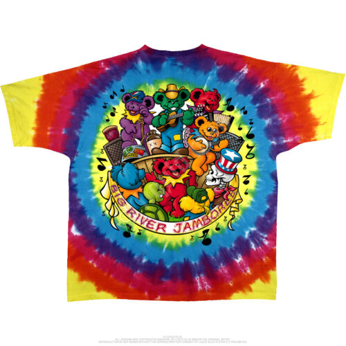 Grateful Dead Jamboree M L XL 2XL Tie Dye T-Shirt