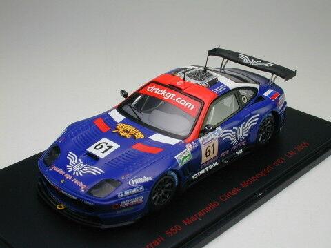 Rote linie 1 43 ferrari 550 maranello cirtek motorsport - 24 2005   61 aus japan